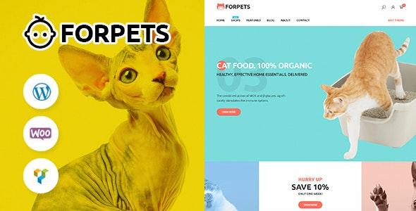 Forpets - food Shop WooCommerce Theme - WooCommerce eCommerce