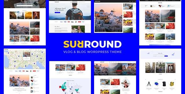 Surround - Vlog & Blog WordPress Theme - News / Editorial Blog / Magazine