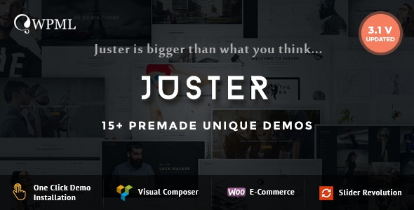 Juster - Multi-Purpose WordPress Theme - Creative WordPress