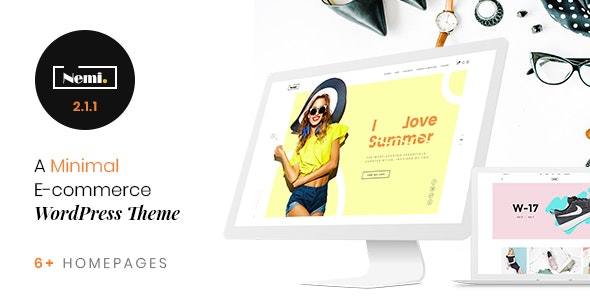 Nemi - Multi Store Responsive WordPress Theme - WooCommerce eCommerce