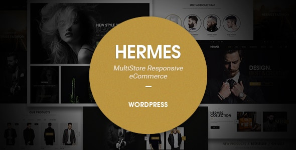 Hermes - Multi-Purpose Premium Responsive WordPress Theme - WooCommerce eCommerce