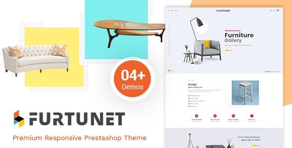 Furtunet - Elegant Furniture & Decor Prestashop Theme - PrestaShop eCommerce