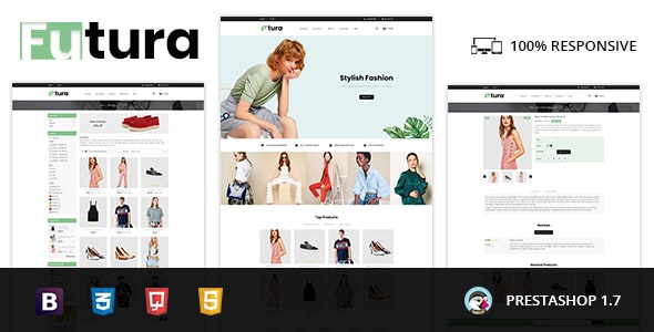Futura - Fashion Store Prestashop 1.7 Responsive Theme - Fashion PrestaShop