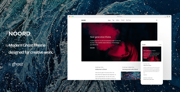 Noord - Multipurpose Ghost Blog Theme - Ghost Themes Blogging