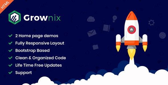 Grownix - SEO, Marketing HTML Template - Marketing Corporate