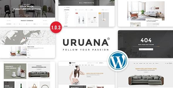 Uruana - Multi Store Responsive WordPress Theme - WooCommerce eCommerce