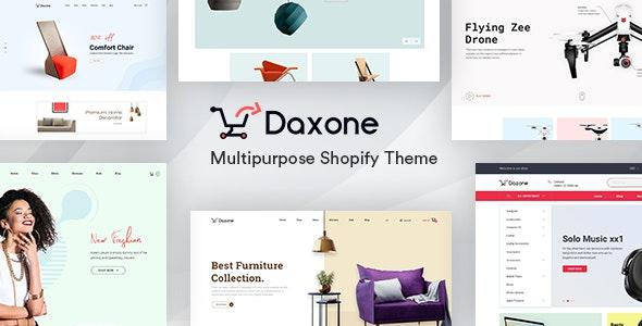 Daxone – Multipurpose Shopify Theme - Shopping Shopify