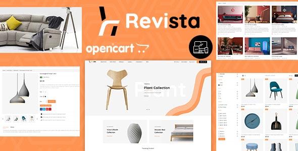 Revista - Opencart 3 Furniture Responsive Theme - OpenCart eCommerce