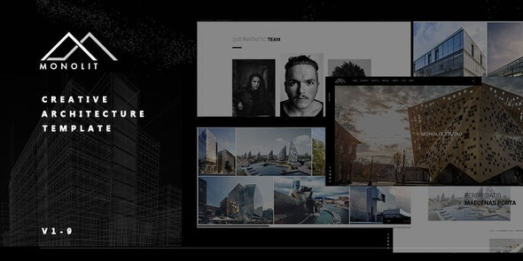 Monolit   - Responsive  Architecture Template - Business Corporate