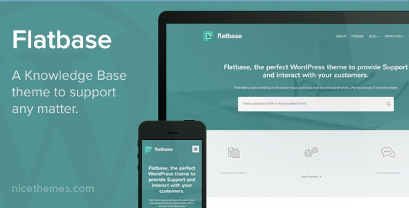 Flatbase - A responsive Knowledge Base/Wiki Theme - Miscellaneous WordPress