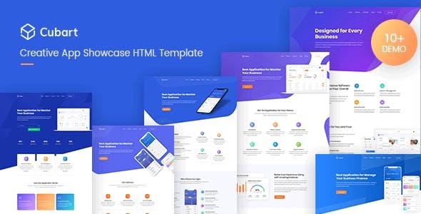 Cubart - Saas &Startup HTML Template