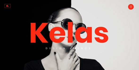 Kelas - Creative Agency Website Template - Creative Site Templates