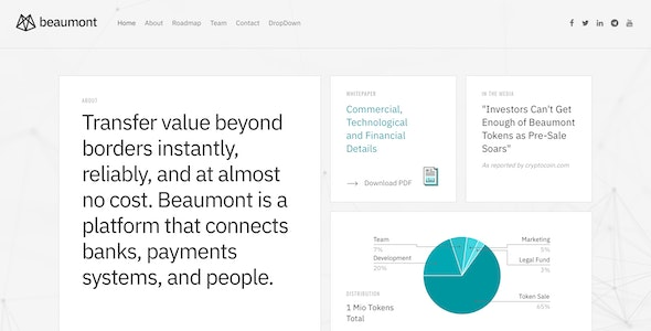 Beaumont – Modern Business Drupal Theme - Business Corporate