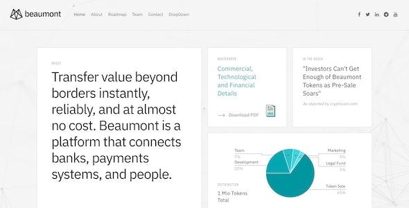Beaumont – Finance Drupal Theme - Business Corporate