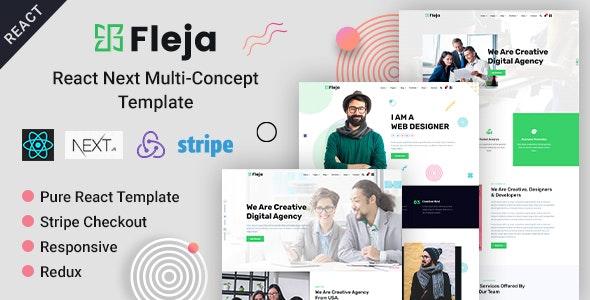 Fleja | React Next Multi-Concept Template - Corporate Site Templates