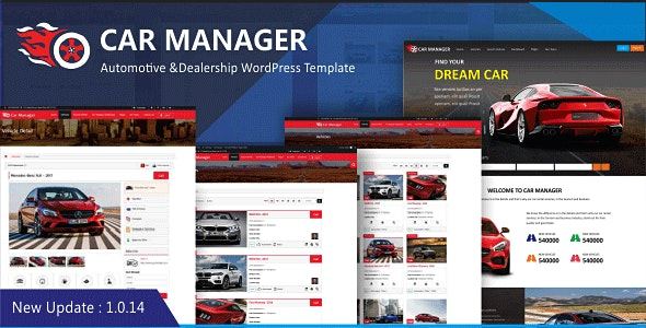 Car Manager - Car Dealership Business WordPress Theme by