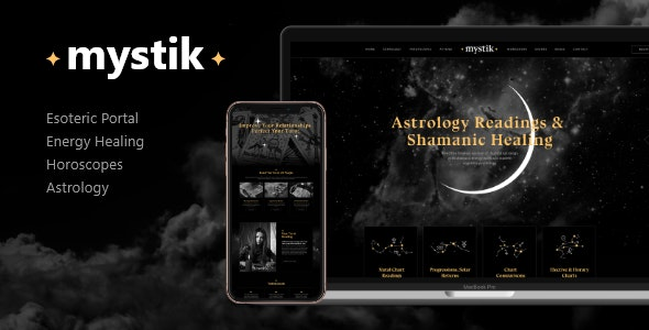 Mystik | Astrology & Esoteric Horoscope WordPress Theme - Health & Beauty Retail