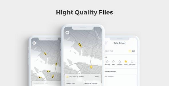Cabbo - Taxi UI Kit Mobile App