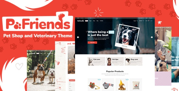 PawFriends - Pet Shop and Veterinary Theme - Retail WordPress