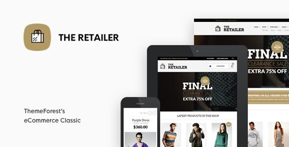 The Retailer - Premium WooCommerce Theme - WooCommerce eCommerce