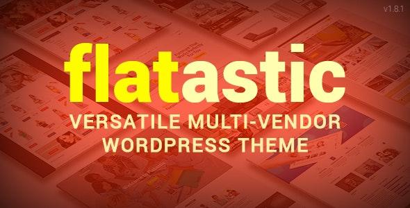 Flatastic - Versatile Multi Vendor WordPress Theme - WooCommerce eCommerce