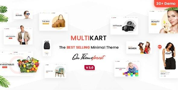 Multikart - eCommerce HTML Template - Retail Site Templates