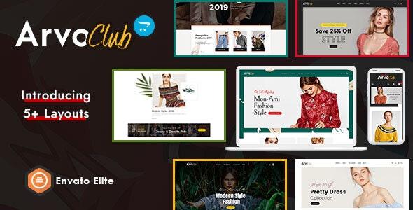 Arvo Club for Boutique - Opencart Multi-Purpose Responsive Theme - Fashion OpenCart