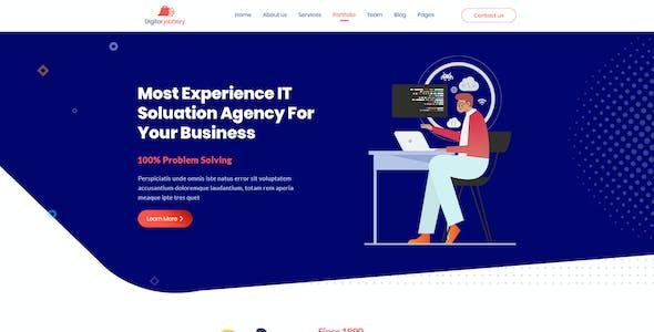 Jobbery - Digital Business PSD Template