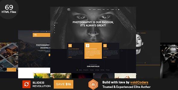 Potolia - Multipurpose Photography HTML Template
