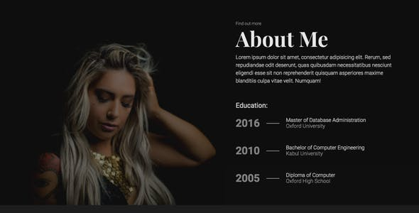 IPort | Personal Portfolio & Resume HTML Template