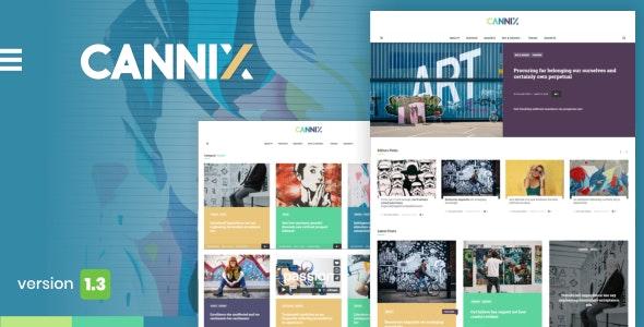 Cannix - A Vibrant WordPress Theme for Creative Bloggers - Personal Blog / Magazine
