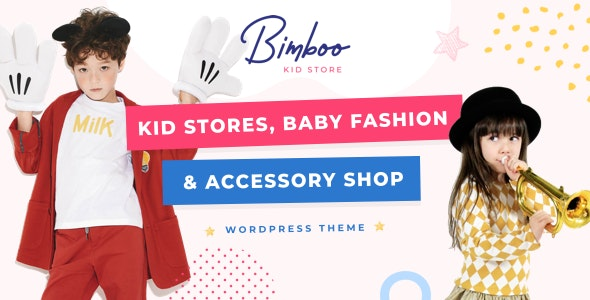 Bimboo - Elementor Kid WooCommerce WordPress Theme - eCommerce WordPress