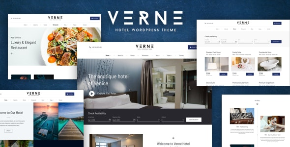 Verne - Hotel & Reservation System Theme - Travel Retail
