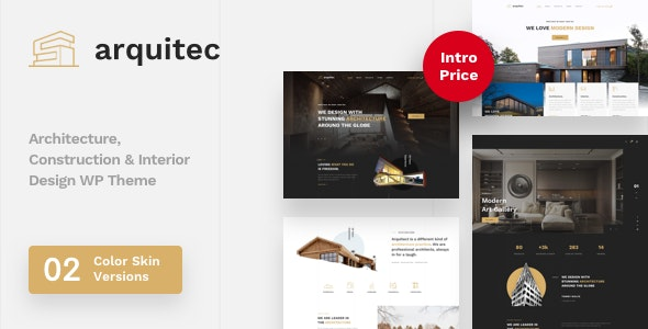 Arquitec - Architecture and Construction WordPress Theme - Portfolio Creative