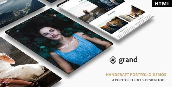 Grand Portfolio - HTML Template - Portfolio Creative