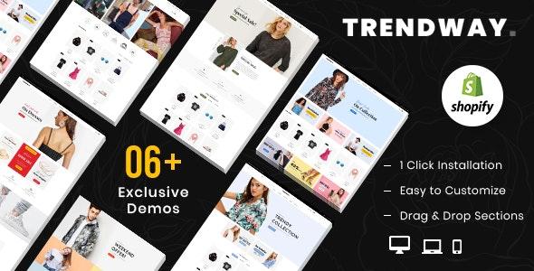 Trendway – Fashion Shopify MultiPurpose Responsive Theme - Fashion Shopify
