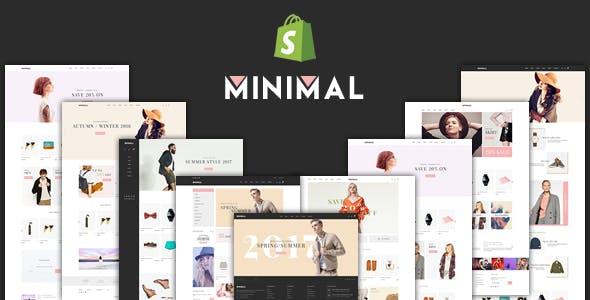 JMS Minimal - Responsive Shopify Theme