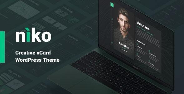 Niko - Resume/CV - Portfolio Creative