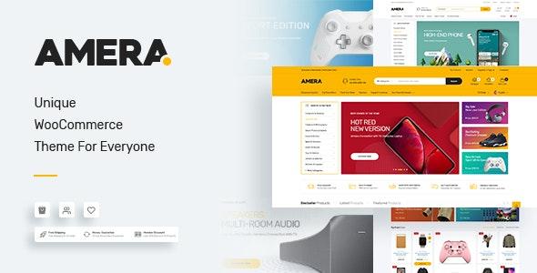 Amera - Digital WooCommerce WordPress Theme - WooCommerce eCommerce