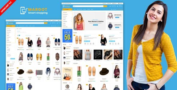 Margot — Multipurpose Shopping Opencart Theme - Shopping OpenCart