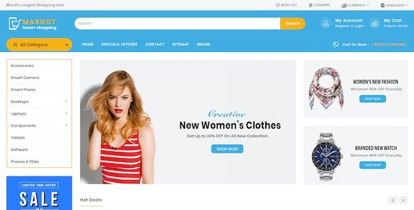 Margot — Multipurpose Shopping Opencart Theme