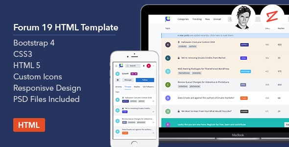 Forum19 -  HTML Template - Miscellaneous Specialty Pages