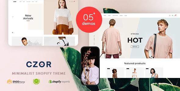 CZOR v1.0 – Minimalist Shopify Theme