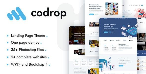 Codrop Theme Preview