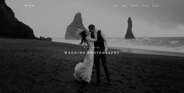 WIND - Photography Muse Template - Creative Muse Templates