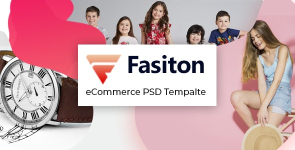 Fasiton - eCommerce PSD template - Shopping Retail