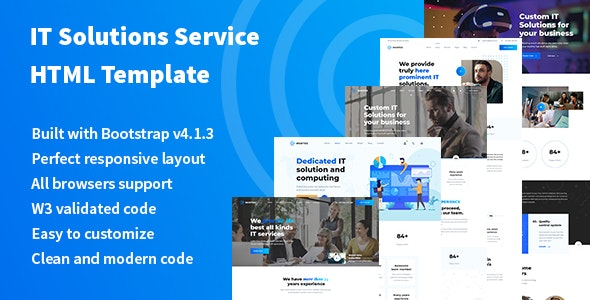 Murtes - IT Solutions and Services Company HTML Template - Business Corporate