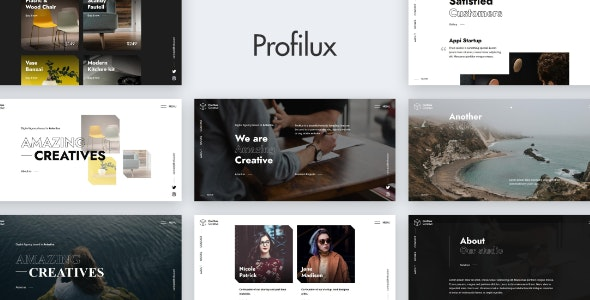 Profilux - Creative Website - Portfolio Creative