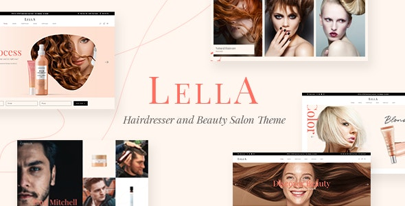Lella - Hairdresser and Beauty Salon Theme - Health & Beauty Retail