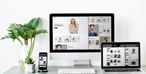ALTTAMAX - Ecommerce PSD Template - Shopping Retail
